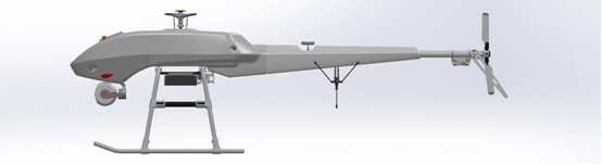 Radio 600 MHz UAVs video  data duplex